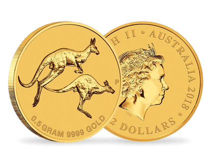 Mini Roo 2018 0.5g Pure Gold Coin