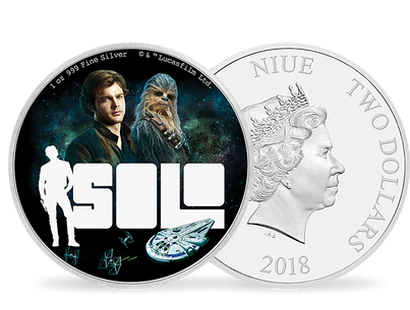 Solo: A Star Wars Story 1oz Silver Coin