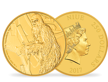 Star Wars Classic – Chewbacca 2017 1 oz Gold Coin