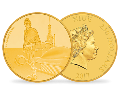 Star Wars Classic – Luke Skywalker 1oz Gold Coin