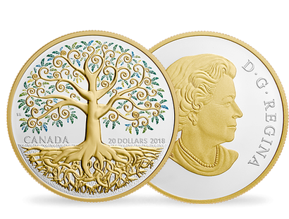 Tree of Life 2018 $20 Fine Silver Coin