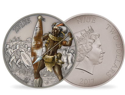 Warriors of History – Zulus 1 oz Silver Coin