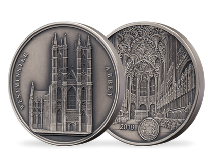 Benin 2018 Westminster Abbey Silver Coin