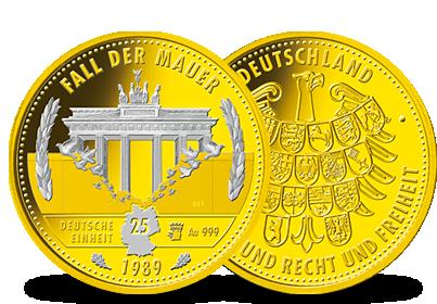 20 Euro Goldmünzen Deutscher Wald Mdm Deutsche Münze