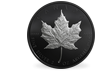 Kanada 2019 Silber-Gedenkmünze 'Black Maple Leaf'