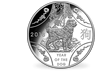Lunar Series -  Year of the Dog 2018 5oz $10 Fine Silver Proof Coin