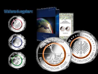Münzen Neuheiten Aus Deutschland Mdm Deutsche Münze