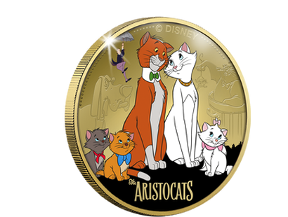 Disney Classics - Aristocats Commemorative - Gold