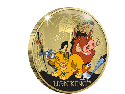 Disney Classics - The Lion King Commemorative - Gold
