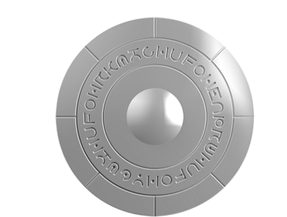 UFO - Roswell Incident 70th Anniversary 2017 Domed Silver $2 Coin