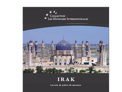Les monnaies internationales, set complet dinar irakien : Irak