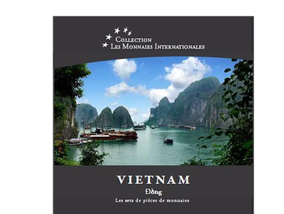 Les monnaies internationales, set complet Đồng : Vietnam