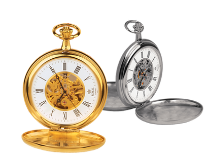 Skelett-Taschenuhr »Royal London Savonette«