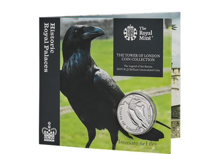 The Tower of London 2019 - The Legend of the Ravens Brilliant Uncirculated Coin
