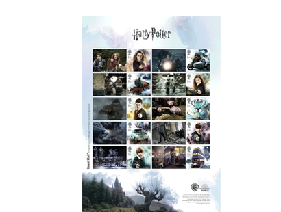 "Briefmarken ""Harry Potter - 10 Sammlermarken zum Film"""