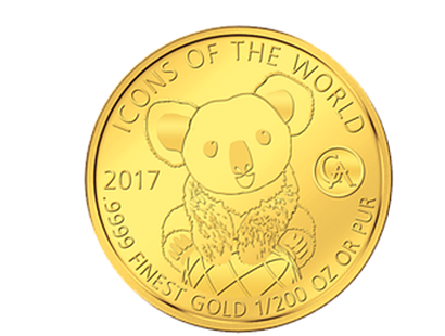 Icons of the World - Koala 2017 Gold Coin