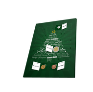 Bild: Advent Coin Calendar Featuring 24 Real Currencies