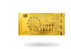 "Goldnote ""Brandenburger Tor"""