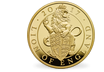 The Queen's Beasts - The Red Dragon of Wales 2018 Kilo Gold Proof Coin