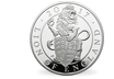 The Queen's Beasts Lion of England 2017 5oz Silver Proof £10 Coin