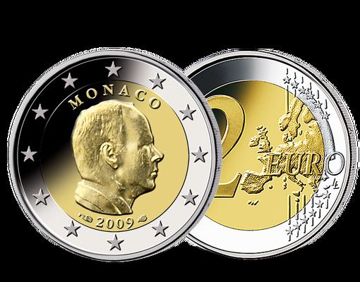 2 Euro MГјnzen Monaco Wert