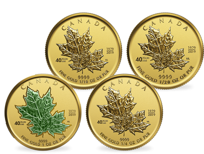 Kanada 2019 Gold Maple Leaf