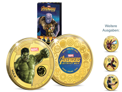 """Avengers: Infinity War"" – offizielle Marvel-Kollektion"