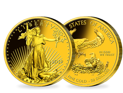 1 Unze Gold Eagle - USA