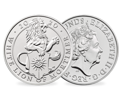 "Großbritannien 2019 ""Queen's Beasts: The White Lion of Mortimer"""