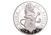 "5oz Silbermünze ""The White Lion of Mortimer"" 2019 aus Großbritannien"