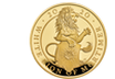 "5oz Goldmünze ""The White Lion of Mortimer"" 2019 aus Großbritannien"
