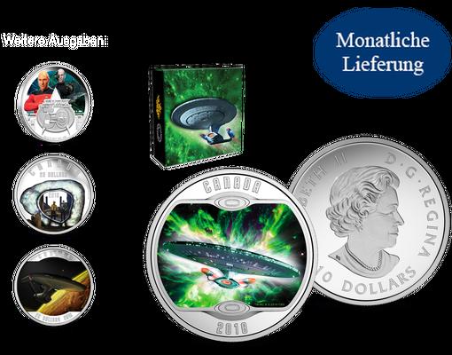 Faszinierend Die Sammlung Der Offiziellen Silber Gedenkmünzen Zu