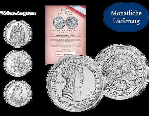 Das Silber Der österreicher Imm Münz Institut
