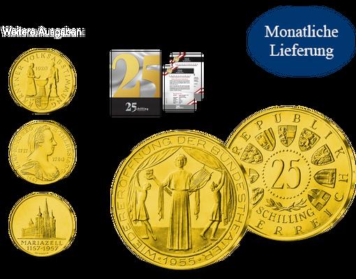 25 Schilling Premium Edition Imm Münz Institut