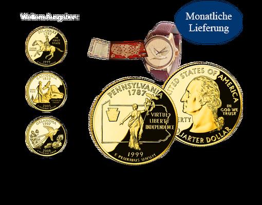 Quarter Dollars Usa Mdm Deutsche Münze