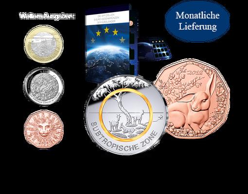 Die Offiziellen 5 Euro Gedenkmünzen Der Euroländer Ihre