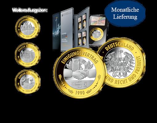 Jubiläumsprägung Deutsche Einheit Mdm Deutsche Münze