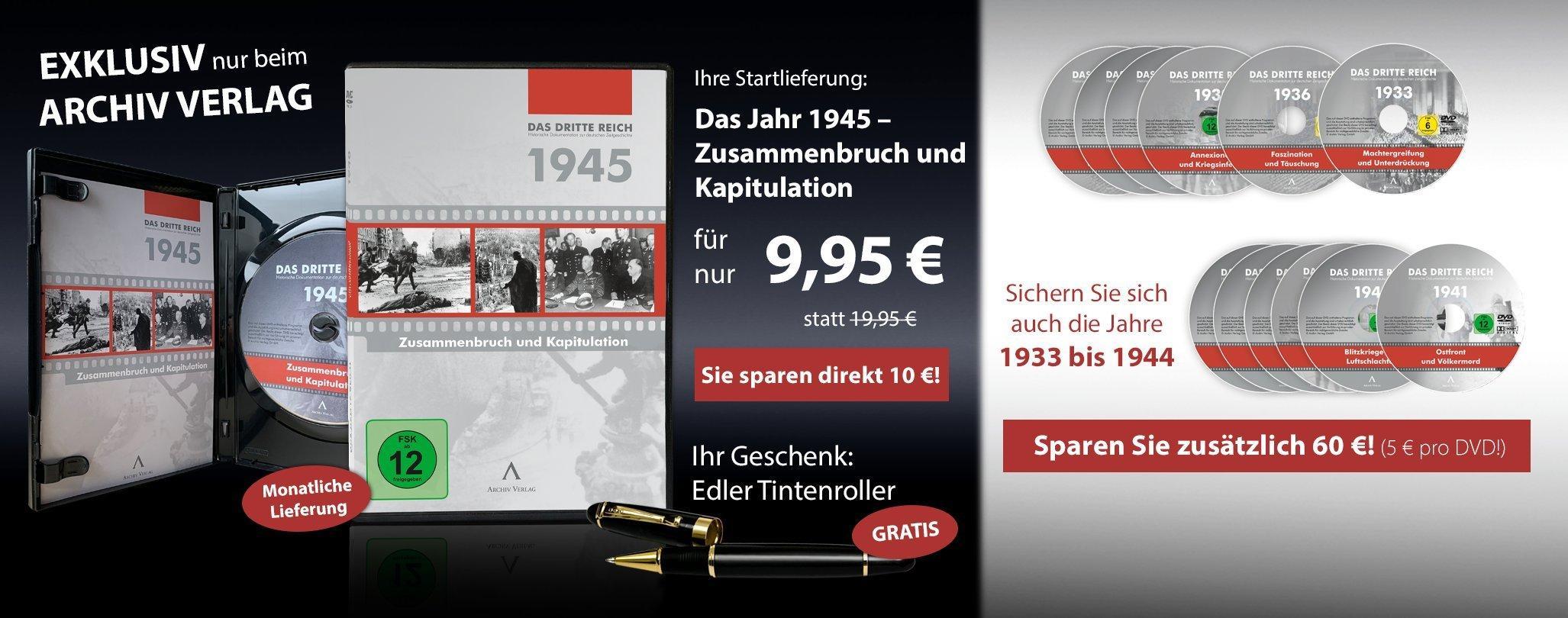 MDM - Das Dritte Reich 1945 - Zusammenbruch und Kapitulation
