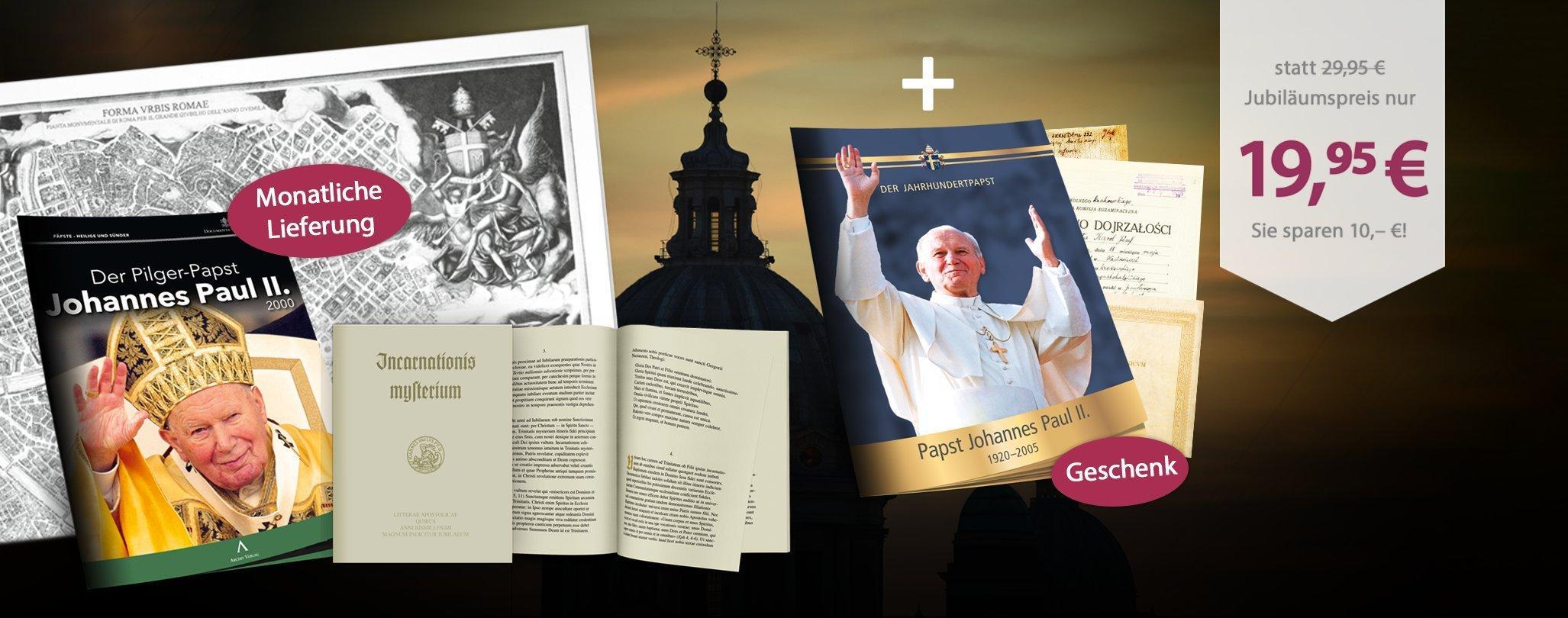 MDM - Documenta Vaticana – Der Pilger-Papst Johannes Paul II.