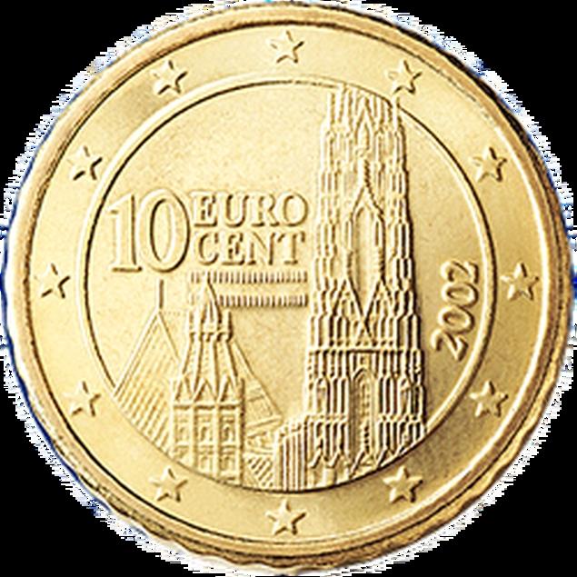 10 Euro-cent Österreich Motivseite