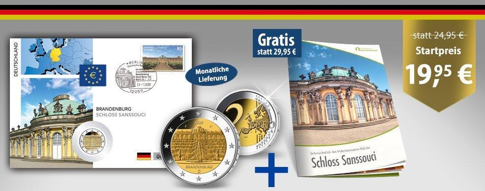 MDM - 2-Euro-Numisbriefe Europas