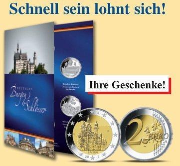 Die Sonder Gedenkprägungen Deutschlands Burgen Und Schlösser