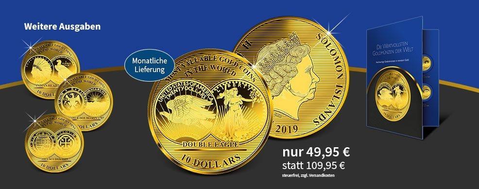 MDM - Goldmünzen Salomonen 2017 Die wertvollsten Münzen