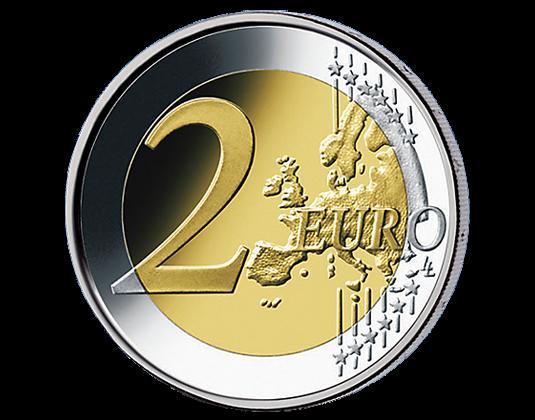 200 Jahre österreichische Nationalbank 2 Euro Gedenkmünzen