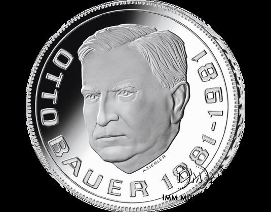 500 Schilling Gedenkmünze 100 Geburtstag Von Otto Bauer Imm