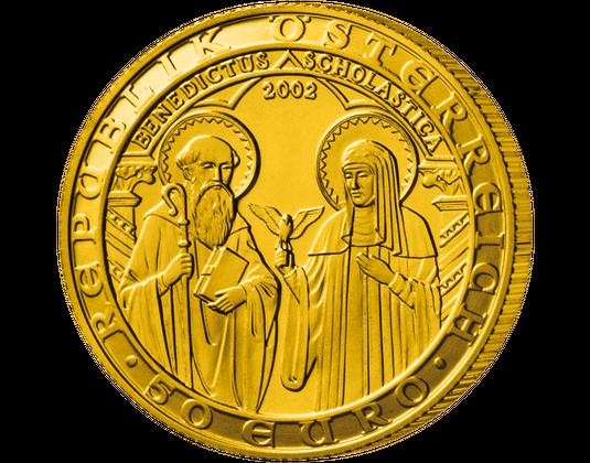50 Euro Goldmünze 2002 Orden Und Die Welt Imm Münz Institut