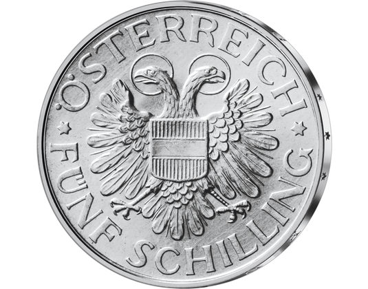 5 Schilling Magna Mater Austriae Von 1935 Imm Münz Institut