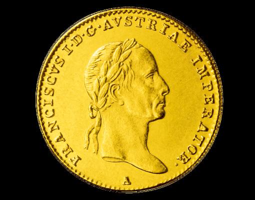 Original Gold Dukat Von Kaiser Ferdinand I 1837 1848 Imm Münz