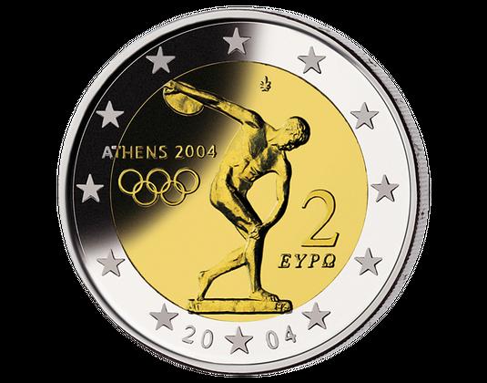 Olympische Sommerspiele In Athen Imm Münz Institut