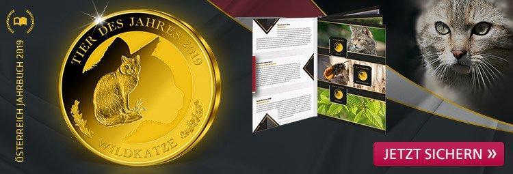 Gold-Ausgabe würdigt Österreichs Tier des Jahres -